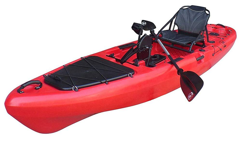 BKC PK13 Pedal Drive Fishing Kayak Review
