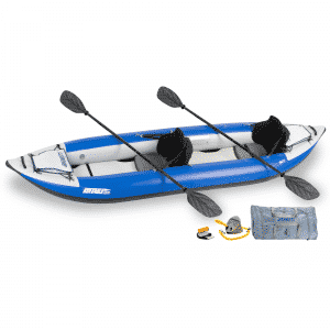 Sea Eagle Explorer 380X Inflatable Kayak Pro Tandem Package